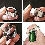 Home Portable Bague Cadeau Bière Mini Métal Décapsuleur Gadget
