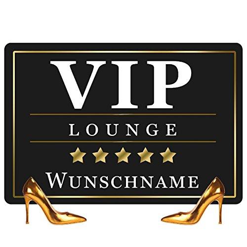 fussmatte originell Geschenke 24 Fussmatte - VIP - Türvorleger mit Personalisierung - Originelle Türmatte VIP Lounge mit Name