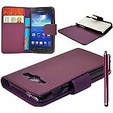 Funda carcasa cartera Piel sintética para Samsung Galaxy Express 2II SM-G3815