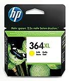HP 364XL cartouche d'encre jaune grande capacité authentique pour HP DeskJet 3070A...