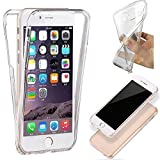 HQ-CLOUD Coque Gel 360 Protection INTEGRAL Transparent INVISIBLE pour APPLE IPHONE 5C