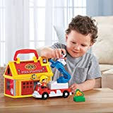 Fisher-Price - Little People Exclusive - Take-along / Mitnehmkoffer- Fire Station / Feuerwehr