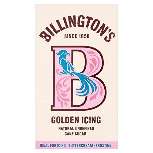 Natural or glaçage de sucre de canne non raffiné de Billington (de 500g) - Paquet de 2
