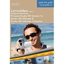 Lernvideo Fortgeschrittenenkurs Pinnacle Studio HD Version 14, Vol. 2: Lernvideo für Pinnacle Studio HD, Studio HD Ultimate und Studio HD Ultimate Collection Version 14
