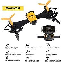 CX-70Micro RTF dormir WiFi FPV Quadcopter Drone con HD cámara desmontable armas Quadcopter G-sensor selfie Drone
