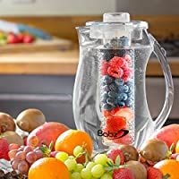 Babz 2.7L Fruit Infusion Pitcher Jug With Ice Core