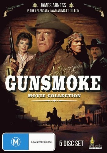Bild von Gunsmoke Complete Movie Collection: Return to Dodge (1987) The Last Apache (1990) To the Last Man (1992) The Long Ride (1993) One Man's Justice (1994) (Region 2) (Import)
