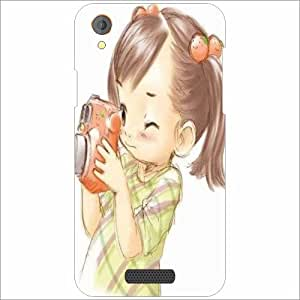 Lava Iris X1 Atom Back Cover - Silicon Click Designer Cases
