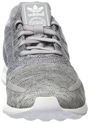 adidas Los Angeles, Baskets Basses Femme, 42 EU Gris (Light Granite/Grey/Ftwr White)