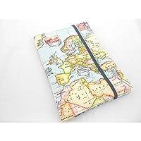 Reisepasshülle Weltkarte