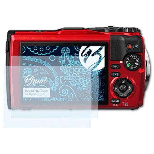 mpatibel mit Olympus TG-5 Folie, glasklare Displayschutzfolie (2X) ()