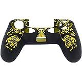 NuteDawn Silicona Gel goma Grip control cubierta de protección para Sony Playstation 4 PS4 (DX1Y)