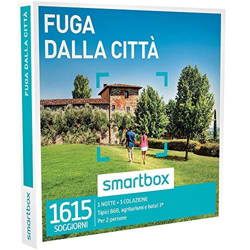 Smartbox - fuga dalla città - 1615 soggiorni in b&b, agriturismi, masserie o hotel 3*, cofanetto regalo