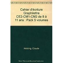 pack graphilettre ce2 cm1 cm2