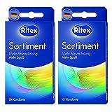 20 (2 x 10er) Ritex Sortiment Mix Kondome - 5 verschiedene Ritex Condome