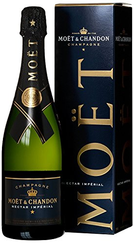 Moët & Chandon Nectar Impérial Champagne in Geschenkverpackung (1 x 0.75 l)