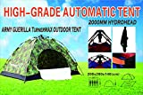 TurnerMAX extérieur Guerrilla 4personnes facile automatique Camping Randonnée Pêche Tente de NEUF
