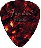 FENDER 098-0451-900 451 Shape Picks, 12 Count, Shell, Heavy