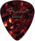 FENDER 098-0451-900451Shape Picks, 12Count, Shell, Heavy