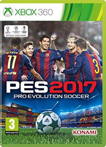 PES 2017 (Xbox 360)  available at amazon for Rs.2499