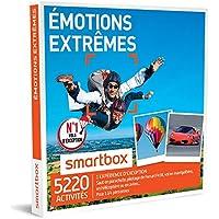 SMARTBOX - Coffret Cadeau - EMOTIONS EXTRÊMES - 2870 activités : parachute en chute libre, pilotage de Ferrari F458, montgolfière