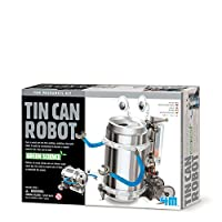4M Kidz Labs Tin Can Robot