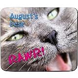 Lillie Bettwäsche-Rose 'RAWR! 'Süße Kätzchen-design Personalisierte Mauspad-Premium - 5 mm dick