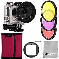 58mm Filtro (Rossa,Giallo, Porpora) + 58mm Adattatore/Adapter
