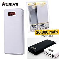 Proda Remax 30000mAh 2x USB taşınabilir şarj cihazı harici akü Akıllı telefon tablet Cep telefonu iOS/Android için Power Bank