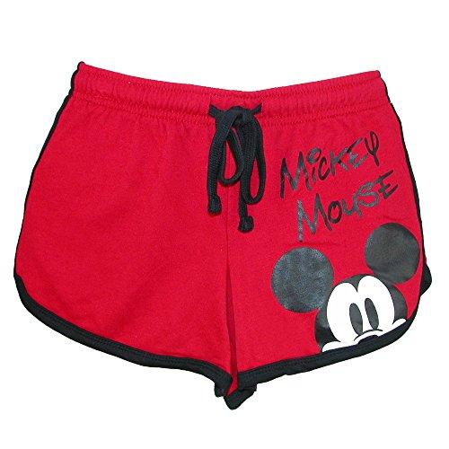 Disney Pantalones cortos de salón para mujer
