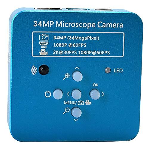 WOVELOT 34Mp 2K 1080P 60Fps Hdmi Usb Microscopio De