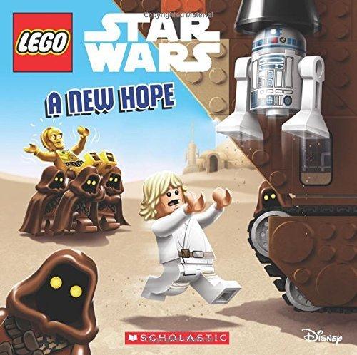 Portada del libro A New Hope: Episode 4 (LEGO Star Wars: 8x8) by Ace Landers (2015-12-29)