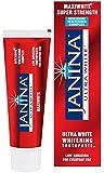 Janina 75ml Ultrawhite Maxiwhite Intensive Whitening Toothpaste