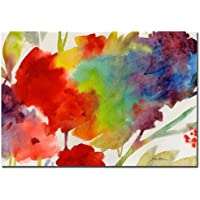 Trademark Fine Art Rainbow Flowers by Sheila Golden, 22x32 inches preiswert
