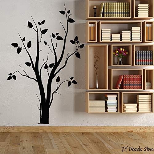 YuanMinglu Baum Vinyl Wandapplikation Abstrakt Baum Natur Gotik Schlafzimmer Dekoration Aufkleber...