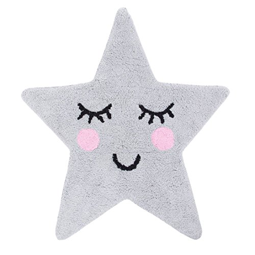Sass & Belle–Sweet Dreams Star–Alfombra, color gris