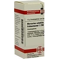 MERCURIUS SOLUBILIS Hahnemanni C 200 Globuli 10 g preisvergleich bei billige-tabletten.eu