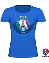 Italia de fútbol Camisa de la Mujer y Hombre para EM 2016