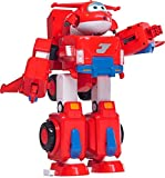 """Super Wings - Jett's Super Robot Suit Large Transforming Vehicle (For Use With 5"""" Figures) + Figure"""