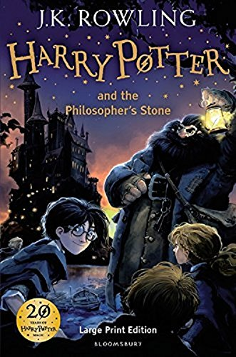 Harry Potter and the Philosopher's Stone (Large Print Edition)