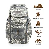 Hisea Outdoor Hiking Backpack 60L - Durable Nylon - Best Reviews Guide