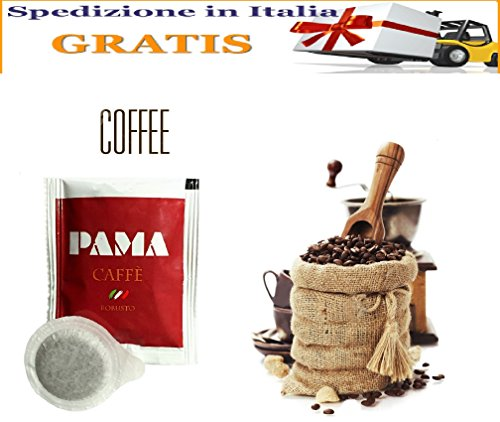 200 Cialde Caffè Pama Filtro carta Ese 44mm miscela gusto Robusto