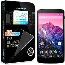 Spigen SGP10666 Nexus 5 1pieza(s) - Protector de pantalla (Nexus 5, Teléfono móvil/smartphone, Google, Vidrio templado, Transparente)