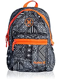 Nike Hurley Mochila City Bag Negro / Naranja Única