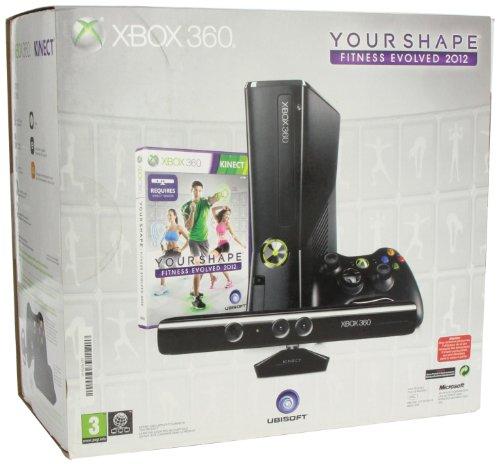 Microsoft X-Box 360 slim 4 GB Kinect incl.Your Shape: gebraucht kaufen  Wird an jeden Ort in Deutschland
