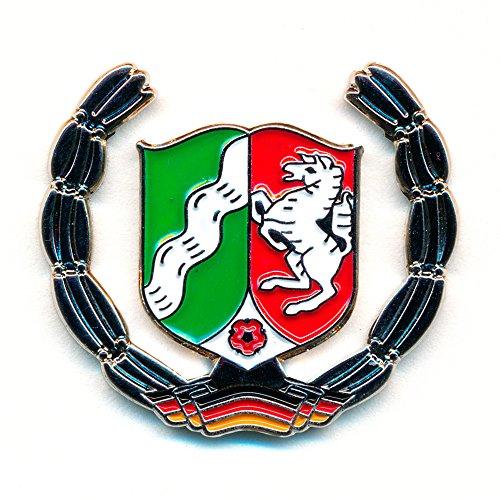 NRW Wappen Deutschland Symbol Flagge Metall Button Badge Pin Anstecker 0792 (Wappen Button)