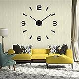 Relojes de Pared Pegatina,Relojes Modernos DIY,Reloj de Pared Adhesivo...