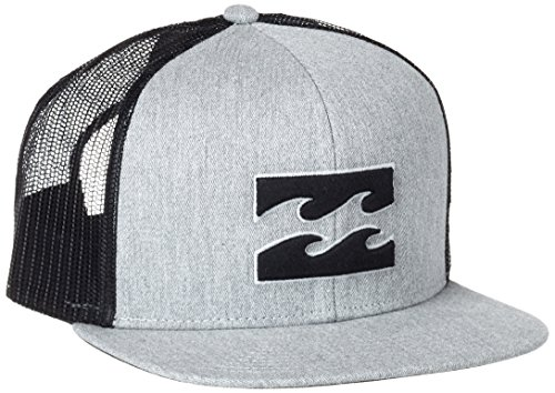 g.s.m. Europe - Billabong All Day Trucker berretto con visiera, Uomo, All Day Trucker, grigio, Taglia unica