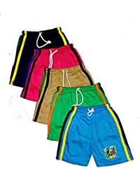 Light Gear Boys (1 to 4 Yrs) Bermuda / Boxer Shorts Pack of 5