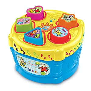 VTech Baby Bumba Vormentrommel Niño/niña - Juegos educativos, Niño/niña, 1 año(s), 3 año(s), Holandés, De plástico
